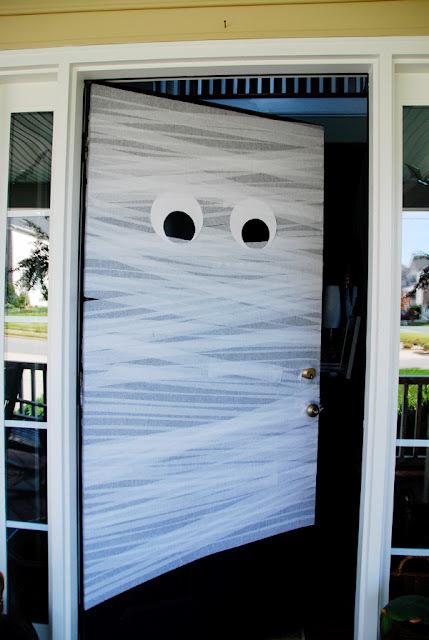Front door mummy
