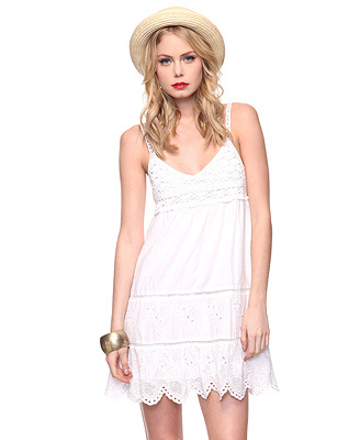 Crochet Eyelet Sundress