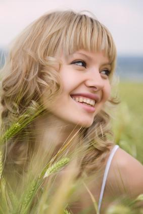 Romantic Ringlets with Bangs