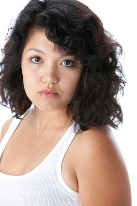 Curly hair - Shoulder length curls