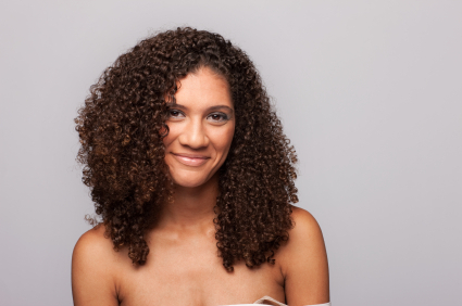 Curly hair - Stacked curls