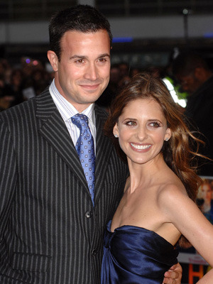 Sarah Michelle and Freddie Prinze, Jr.