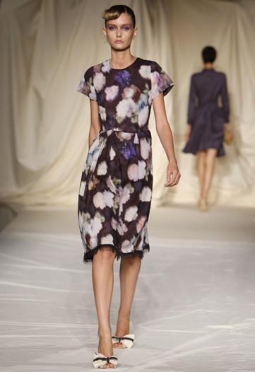 Cynthia Rowley Floral Dress