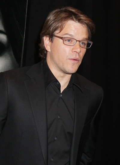 Matt Damon arrives at &#039;Adjustment Bureau&#039; premiere
