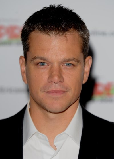 Matt Damon at the Empire Awards 2008