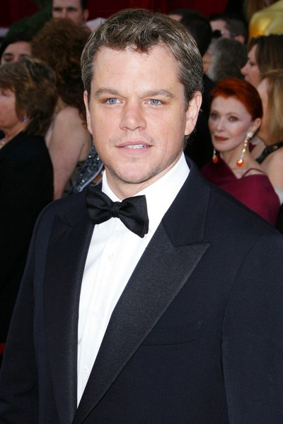 Matt Damon back at the Oscars