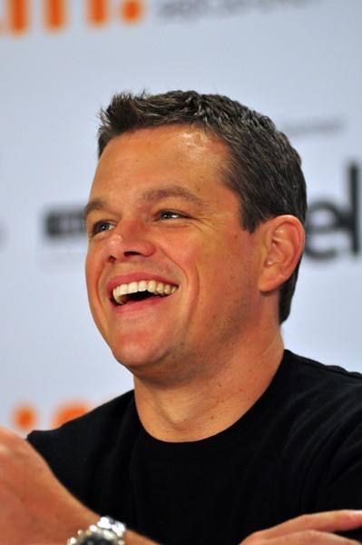 Matt Damon at TIFF