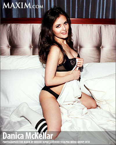 Danica McKellar Appears in Maxim