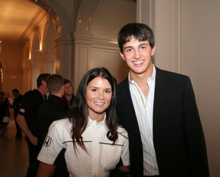 Danica Patrick and Graham Rahal