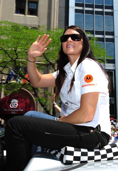 Danica Patrick at the Indy 500 Parade