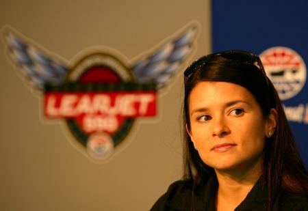 Danica Patrick at the Learjet 500k