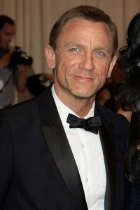 Daniel Craig's giving us that smile he does