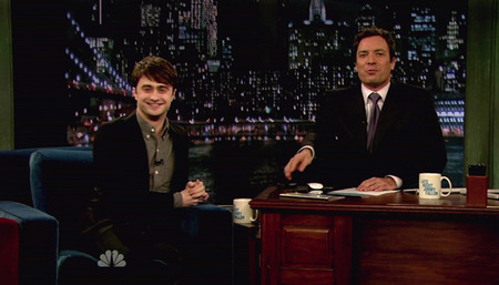 Daniel Radcliffe NBC's Late Night With Jimmy Fallon