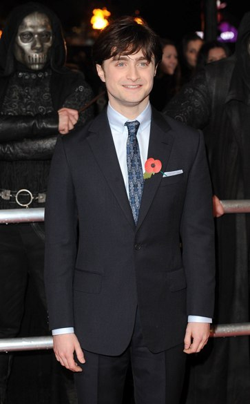 Daniel Radcliffe Harry Potter and the Deathly Hallows Part 1 London premiere