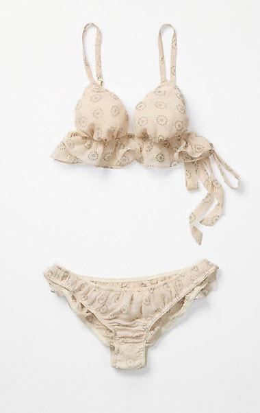 Girly lingerie
