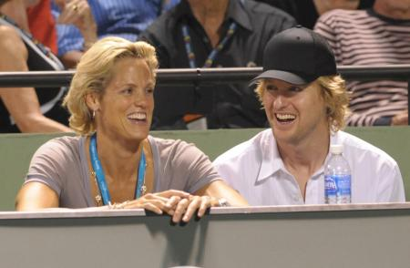 Dara Torres and Owen Wilson