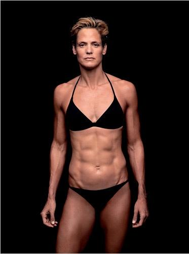 Dara Torres Shows Off Her Bod