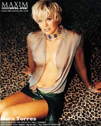Dara Torres in Maxim