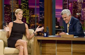 Dara Torres on Jay Leno