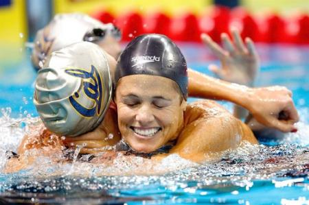 Dara Torres Sets Two Records in One Day