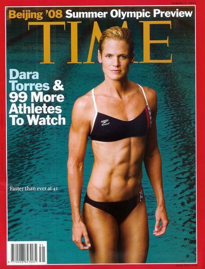 Dara Torres in TIME Magazine