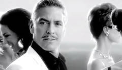 George Clooney in an advertisement for the Italian alcohol brand Martini