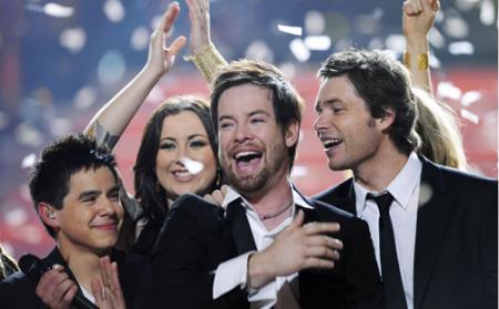 Cook wins Season Seven of American Idol