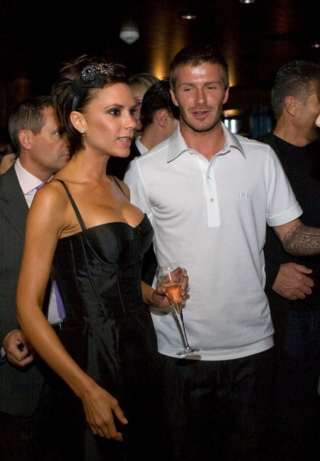 David and Victoria Beckham (2009)