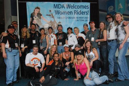 Women's Day Ride for MDA