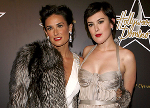 Demi Moore and Rumor Willis