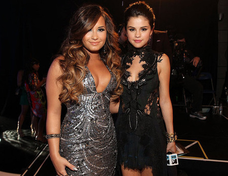 Selena and Demi