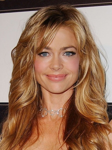 Denise Richards tousled