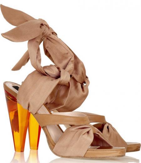 Derek Lam Aja Ribbon Sandals
