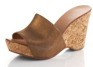Diane von Furstenberg Cork Wedge Sandals