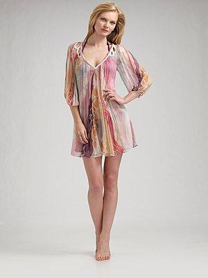 Diane von Furstenberg Silk Cover-up