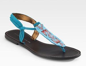 Diane von Furstenberg Thong Sandals