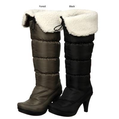 Diba Knee-high Foldover Boots