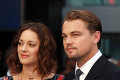 Leonardo DiCaprio joins Marion Cotillard in London