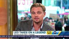 """Leonardo DiCaprio promotes his film """"J. Edgar"""""""