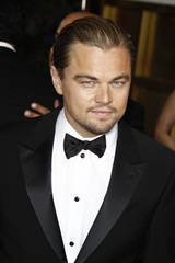 Leonardo DiCaprio at the Golden Globes