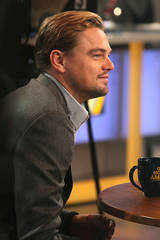 Leonardo DiCaprio at 'Good Morning America'