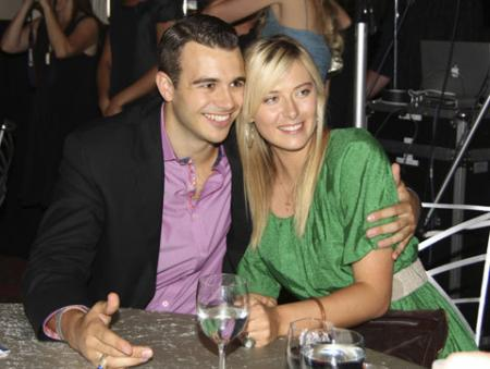 Dick Ebersol and Maria Sharapova