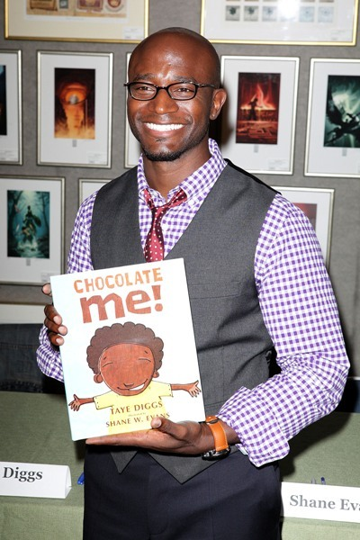 Taye Diggs promotes his children's book 'Chocolate Me'