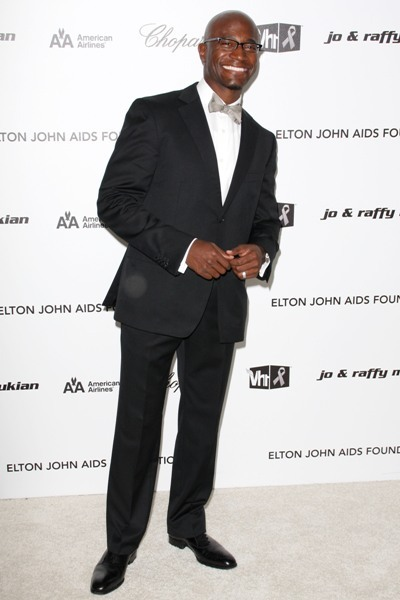 Taye Diggs shows support