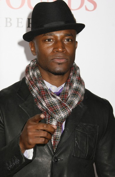 Taye Diggs is the strong, silent type