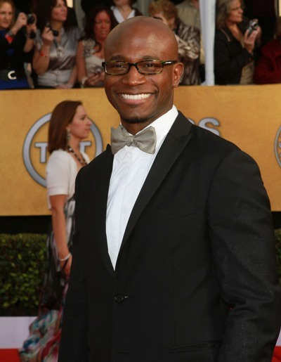 Taye Diggs arrives at the SAGs