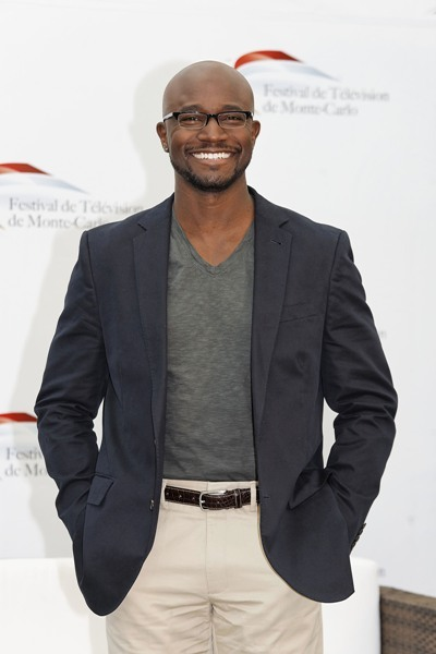 Taye Diggs all smiles in Monaco