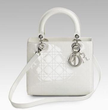 Dior Lady Dior Patent Classic Bag