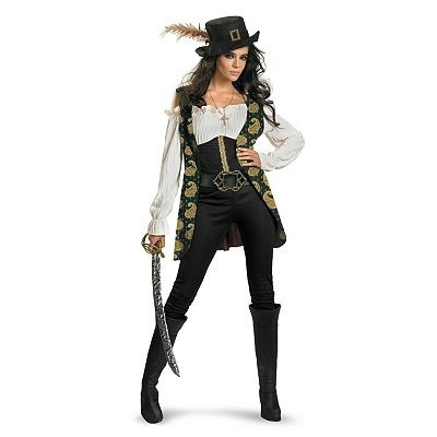Disney Pirates of the Caribbean Angelica Deluxe Costume