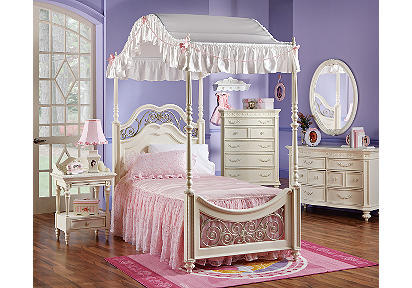Princess Bedroom - Girls' bedroom ideas